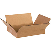 "Flat Corrugated Boxes 13"" x 10"" x 2"" 200lb. Test/ECT-32 25 Pack"