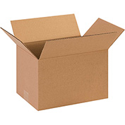 "Cardboard Corrugated Box 13"" x 9"" x 7"" 200lb. Test/ECT-32 - 25 Pack"