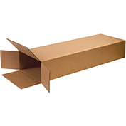 "Side Loading Boxes 14""x 4"" x 52"", 200 lb. Test/ECT-32 Kraft - 15 Pack"