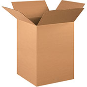 "Cardboard Corrugated Box 15"" x 15"" x 24"" 200lb. Test/ECT-32 - 20 Pack"