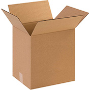 "Cardboard Single Wall Corrugated Box 16"" x 12"" x 16"" 200Lb. Test/ECT-32  Kraft - 25 Pack"