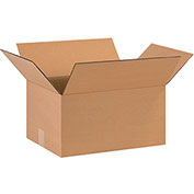 "Cardboard Corrugated Box 16"" x 12"" x 8"" 200lb. Test/ECT-32 - 25/PACK"