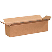 "Long Cardboard Corrugated Box 16"" x 4"" x 4"" 200lb. Test/ECT-32 - 25 Pack"