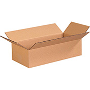 "Cardboard Corrugated Box 16"" x 8"" x 4"" 200lb. Test/ECT-32 - 25 Pack"