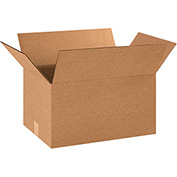 "Cardboard Corrugated Boxes 17"" x 12"" x 10"" 200lb. Test/ECT-32 - 25 Pack"