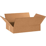 "Flat Corrugated Boxes 18"" x 12"" x 3"" 200lb. Test/ECT-32 25 Pack"