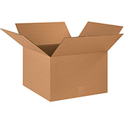 "Cardboard Corrugated Box 18"" x 18"" x 12"" 200lb. Test/ECT-32 - 20/PACK"