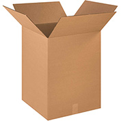 "Cardboard Corrugated Box 18"" x 18"" x 24"" 200lb. Test/ECT-32 - 15 Pack"