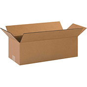 "Long Corrugated Boxes 20"" x 8"" x 6"" - 25 Pack"