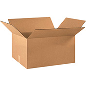 "Cardboard Corrugated Box 22"" x 16"" x 10"" 200lb. Test/ECT-32 - 20 Pack"