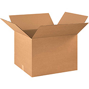 "Cardboard Corrugated Box 22"" x 18"" x 16"" 200lb. Test/ECT-32 - 15 Pack"