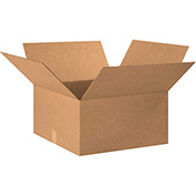 "Corrugated Carton Cardboard Corrugated Box 22"" x 20"" x 10"" 200lb. Test/ECT-32 - 15 Pack"