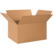 "Corrugated Boxes 24"" x 17"" x 12"" - 15 Pack"