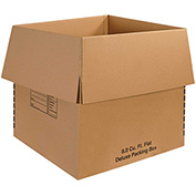 "Deluxe Packing Boxes 24"" x 24"" x 24"" - 10 Pack"