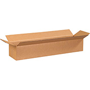 "Long Corrugated Carton24"" x 6"" x 4"" 200lb. Test/ECT-32 - 25 Pack"
