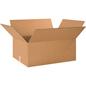 "Cardboard Corrugated Boxes 26"" x 18"" x 10"" 200lb. Test/ECT-32 - 15 Pack"