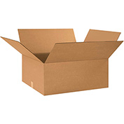 "Cardboard Corrugated Box 26"" x 20"" x 10"" 200lb. Test/ECT-32 - 15 Pack"