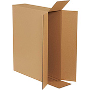 "Side Loading Boxes 26"" x 6"" x 20"" - 10 Pack"