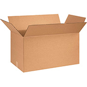 "Corrugated Boxes 28"" x 14"" x 14"" - 20 Pack"