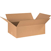 "Cardboard Corrugated Box 30"" x 24"" x 10"" 200lb. Test/ECT-32 - 15 Pack"