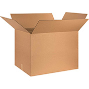 "Corrugated Boxes 30"" x 24"" x 24"", 200 lb. Test/ECT-32 Kraft - 10 Pack"