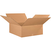 "Cardboard Corrugated Box 30"" x 30"" x 10"" 200lb. Test/ECT-32 - 15 Pack"