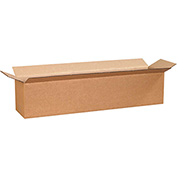 "Cardboard Single Wall Corrugated Box 30"" x 8"" x 8"" 200Lb. Test/ECT-32 Kraft - 25 Pack"