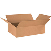 "Corrugated Boxes 32"" x 18"" x 8"", 200 lb. Test/ECT-32 Kraft - 15 Pack"