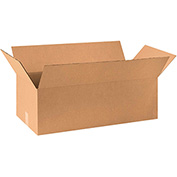 "Corrugated Boxes 36"" x 20"" x 15"", 200 lb. Test/ECT-32 Kraft - 10 Pack"