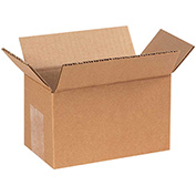 "6"" x 3"" x 3"" Corrugated Boxes 200lb. Test/ECT-32 - 25 Pack"
