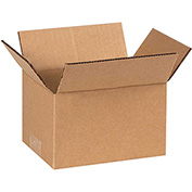 """6"""" x 4"""" x 3"""" Corrugated Boxes 200lb. Test/ECT-32 - 25 Pack"""