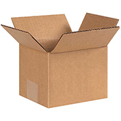 "Cardboard Corrugated Box 6"" x 5"" x 4"" 200lb. Test/ECT-32 - 25 Pack"