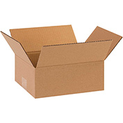 "Flat Corrugated Boxes 8"" x 6"" x 3"" - 25 Pack"