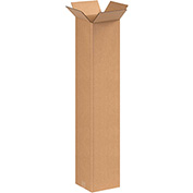 "Tall Corrugated Boxes 8"" x 8"" x 42"" - 20 Pack"
