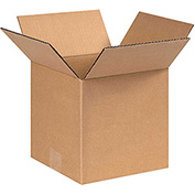 "8 x 8 x 8"" Corrugated Boxes - 25 Pack"