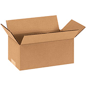 "Cardboard Corrugated Box 9"" x 4"" x 4"" 200lb. Test/ECT-32 - 25 Pack"