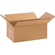 "Corrugated Boxes 9"" x 5"" x 3"" 200lb. Test/ECT-32 25 Pack"