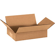 "Corrugated Boxes 9"" x 6"" x 2"" 200lb. Test/ECT-32 25 Pack"