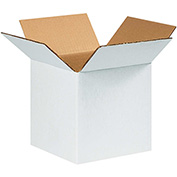 "White Corrugated Boxes 9"" x 9"" x 9"" 200lb. Test/ECT-32 25 Pack"