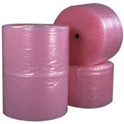 "Perforated Anti-Static Air Bubble Rolls 12"" x 250' x 1/2"" 4 Pack"