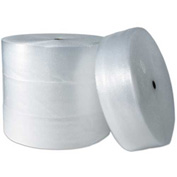"Air Bubble Rolls 24"" x 250' x 1/2"", Non-Perforated, Clear, 2/PACK"