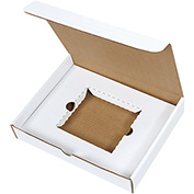 "CD Literature Mailer Kits 11 1/8"" x 8-3/4"" x 2"" - 50 Pack"