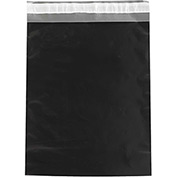 "Colored Poly Mailers 12"" x 15-1/2"" 2.5 Mil Black 100 Pack"