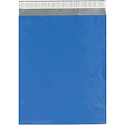 "Colored Poly Mailers 14-1/2 x 19"" 2.5 Mil Blue 100 Pack"
