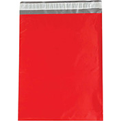 "Colored Poly Mailers 14-1/2 x 19"" 2.5 Mil Red 100 Pack"