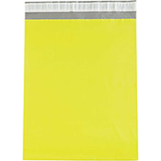 "Colored Poly Mailers 14-1/2 x 19"" 2.5 Mil Yellow 100 Pack"