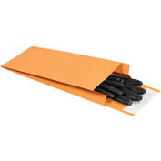 "5"" x 11"" x 2"" Kraft Expandable Self-Seal Envelopes - 100 Pack"