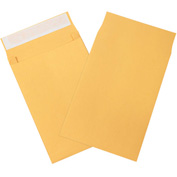 "10"" x 13"" x 2"" Kraft Expandable Self-Seal Envelopes - 100 Pack"