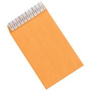 "6"" x 9"" Kraft Self-Seal Envelopes - 500 Pack"