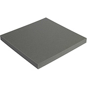 "Charcoal Soft Foam Sheets 2"" x 12"" x 12"" 24 Pack"